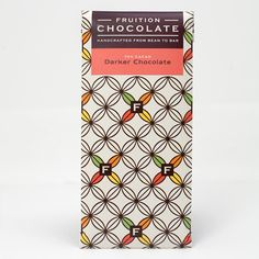 Fruition Chocolate — Dark Chocolate - 70%.  Bright and Assertive with a Lengthy Dark Roast Finish. Handcrafted from Peruvian Cacao. Craft chocolate made in Shokan, New York.