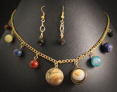 Solar System Jewelry Set -   space-jewelry.com