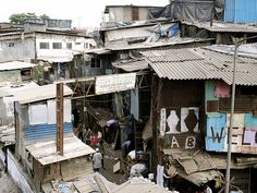 Dharavi Slums, Mumbai, India