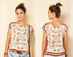 moda 2015 blusas - Pesquisa Google