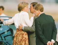 Princess Diana and Prince Andrew