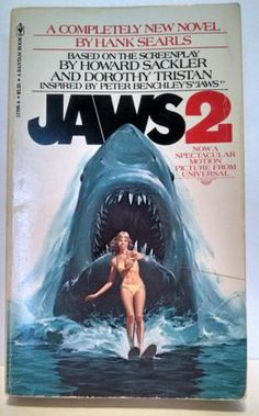 Jaws 2 Movie Novelization The Classic Sequel Now as A Book Retro Reading | eBay