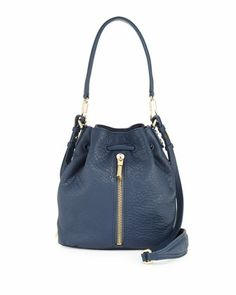 Elizabeth and James Cynnie Mini Bucket Lambskin Bag