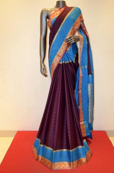 Pure Mysore Crepe Silk Saree Product Code: AA216128 Online Shopping: http://www.janardhanasilk.com/index.php?route=product/product&search=AA216128&description=true&product_id=4262