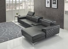 Orren Ellis Meadville Right Hand Facing Sectional Thing 1, Built In Speakers, Sofa Set, 5 D, Love Seat, Couch, Sectional Sofa, Upholstery, Cup Holders