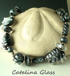 SRA Handmade Lampwork Glass   Beads SRA  by by catalinaglass, $38.00
