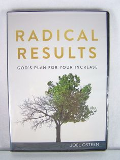 "#Pastor Joel #Osteen #Christian #Ministries ""Radical Results--God's Plan for Your Increase"" #religious & #spiritual three (3) piece #CD CD-ROM #DVD DVD-ROM #video & #audio #disc #set #series with #devotional #sermon message, brand new & unused in clear plastic protective sealed shrink-wrap packaging with original black clamshell case & white paper cover art insert…"