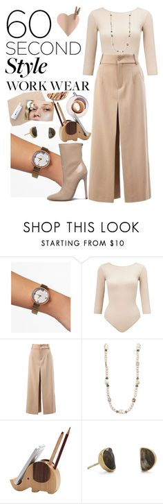 """""""Work Wear • 2"""" by earthangell on Polyvore featuring Miss Selfridge, Chloé, Stephen Dweck, BillyTheTree, WorkWear and 60secondstyle"""