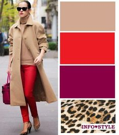 Color combinations for clothes, colour combinations fashion, color comb Colour Combinations Fashion, Color Combinations For Clothes, Fashion Colours, Colorful Fashion, Color Combos, Mode Outfits, Winter Outfits, Casual Outfits, Fashion Outfits