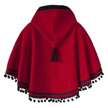little red riding hood fleece poncho, I kinda want to make this, I loved my little red ridding hood cape thing when I was little.