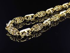 mens diamond necklace - Google Search