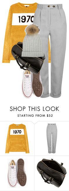 """""""Untitled #1897"""" by sully99 ❤ liked on Polyvore featuring Bella Freud, Topshop, Converse and Yves Saint Laurent"""