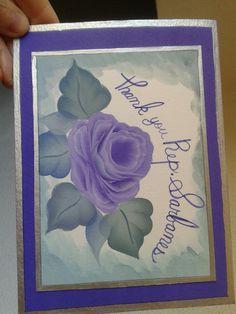 acrylic card