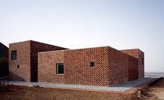 modern brick housing - Google Search