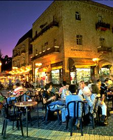 Jerusalem, Israel.  Beautiful spot to relax with friends.