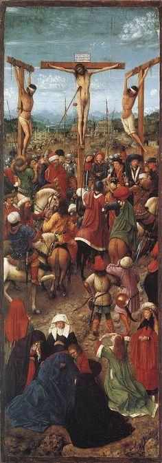 Crocifissione (parte sinistra del dittico)