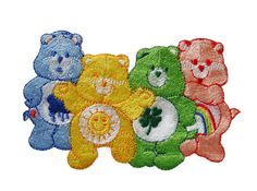 Care Bear Embroidered Applique Iron on Patch