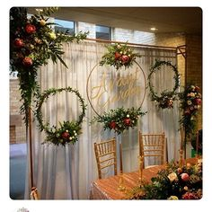 Engagement Decorations, Diy Wedding Decorations, Wedding Ideas, Diy Wedding Crafts, Rustic Wedding Backdrops, Diy Wedding Projects, Baby Shower Decorations, Wedding Wreaths, Wedding Flowers