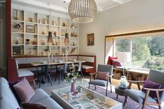 Modern Heritage meets Scandi Chic in our latest design for 'Tid for Hjem', Norway. Featuring many Biophilic Design principles such as natural lighting and materials, warming and soothing colour schemes and views onto nature. Grand Designs Magazine, Grand Designs Live, London Design Week, Scandi Chic, Timber Panelling, Soothing Colors, Built Environment, Create Space, Sustainable Architecture