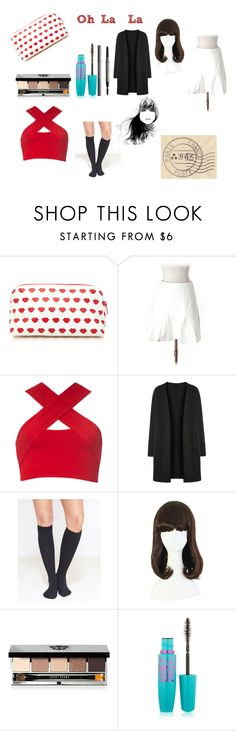 """""""Oh-La-La"""" by vivianrose-11 on Polyvore featuring Forever 21, White House Black Market, Motel, Wet Seal, Bobbi Brown Cosmetics, Maybelline and Burberry"""