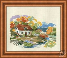 The Autumn Colors - Cross Stitch Kits by RIOLIS - 1171