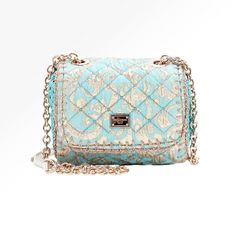 Dolce & Gabbana Jacquard Mini Shoulder Bag