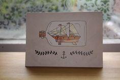 Poppytalk: On the Radar: Ship in a Bottle