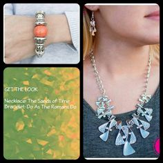 To me this is a simple and fresh look. I like sometimes just having a slight hint of color that really jumps out in a major way because it's not to overpowering. What colors do you like to peek out in your fashion?  Order now at paparazziaccessories.com/42635. Login or create a customer account and join the Mystery Hostess Party. Remember you get 1 entry to win all the hostess rewards for every piece you purchase.