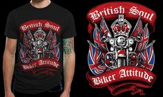 Create a capturing Biker/Motorcycles T-shirt design by mavefreak