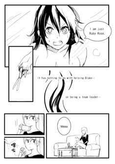 Henceforward AU Chapter 31 All credit to Kumafromtaiwan—Read from right to left Rwby Anime, Manga Anime, Rwby White Rose, Rwby Comic, Anime Kiss, Ruby Rose, Funny Comics, White Roses, Gravity Falls