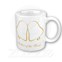 Mother Of The Bride Gold Bells Mug