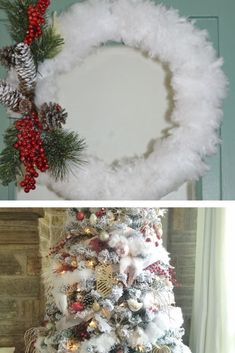 Do you need a DIY Christmas decor crafts? These Dollar Tree DIY projects is super easy. It will add pizazz to your Christmas Tree decor. Diy Christmas Garland, Dollar Tree Christmas, Diy Garland, Christmas Tree Decorations, Dollar Tree Decor, Dollar Tree Crafts, Diy Craft Projects, Decor Crafts, Fur Tree