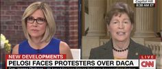 Democratic New Hampshire Sen. Jeanne Shaheen suggested Tuesday morning that Russia is to blame for the illegal immigrant protesters who derailed House Minority Leader Nancy Pelosis community event.  Will the stupidity of the dems ever end.