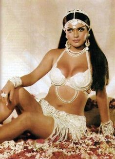 Zeenat Aman who broke all the rules of how a Bollywood actress should dress. She is also the first one who brought the term sexy to Bollywood movies. Best known for her role in Satyam Shivam Sundaram 1978.