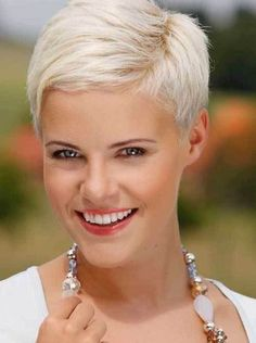 Pixie hairstyles 221802350385650162 - Pretty Platinum Blonde Pixie – Hairstyles Fashion and Clothing Source by ginnybeau Short Layered Haircuts, Short Hairstyles For Thick Hair, Short Hair Cuts, Short Hair Styles, Hairstyle Short, Undercut Hairstyles, Pixie Hairstyles, Cool Hairstyles, Hairstyle Ideas
