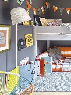 El personal cuarto de un adolescente