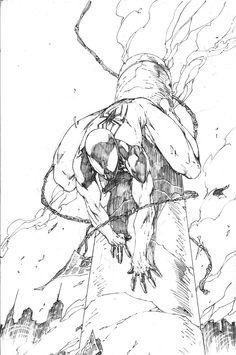 Scarlet Spider (Kaine) by Brett Booth