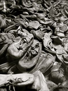 A poignant and moving article about visiting Auschwitz for the first time, including photos and a guide for first time visitors. >>>  This is the room of childrens shoes