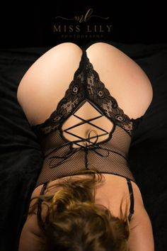 Heart shaped bootie shot in a sexy black bodysuit by central Michigan Boudoir Photographer, Lily Angiolini of Miss Lily Photography. #misslilyboudoir #sexy #bootie #boudoir #bodysuit #blackribbin