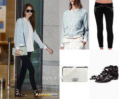 Yoona Patent Boy Chanel Bag