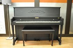 Ebony satin.  When I'm done with my piano, this is how she's going to look.