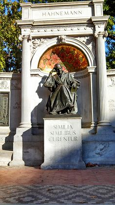 Samuel Hahnemann Monument - Been there! Health Practices, Knee Exercises, Homeopathic Medicine, Naturopathy, Osho, Wonders Of The World, Monuments, Medicine Cabinet, Washington