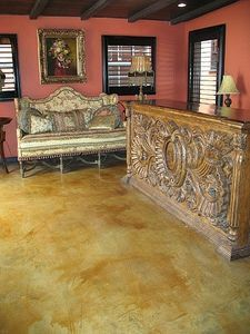 How to Acid Stain Your Concrete Floor so It Looks as Natural Like Stone thumbnail