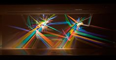 Stephen Knapp has been making work that is transformed by light for over thirty years, producing vibrant light installations he refers to as paintings. These large-scale works utilize minimal tools, harnessing simply light and dichroic glass to throw a multitude of colors against the walls and r