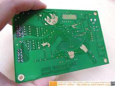 cineraria:  CPU自作入門が発売に美少女入りのサンプル基板も展示中