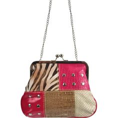 Patched Small Fashion Purse Pink - Wholesale Handbags Shop