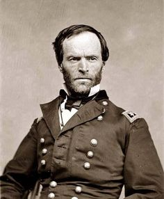 February 8, 1820 William Tecumseh Sherman was born in Lancaster, Ohio. He first came to St. Louis in 1843, and reported for duty at Jefferson Barracks in 1850. He left the Army in 1853, and failed as a banker, lawyer and businessman. In March 1861, he returned to the city he loved. Sherman returned to the Army after the Camp Jackson affair and went on to become one of the top military figures in history. After the war, grateful citizens here bought Sherman a home at 912 North Garrison.
