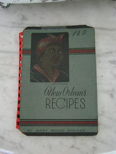 New Orleans Recipes Cookbook - 1944