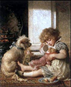 Nursery Life  by  Donna Green http://es.pinterest.com/Patsaleja/images-anciennes/