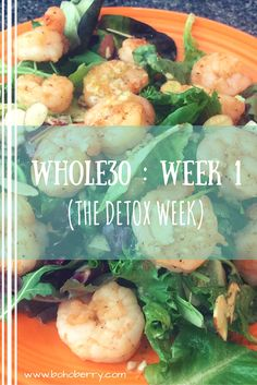 It's been exactly one week since I embarked on my Whole30 journey. Come check out my progress and tips so far! :)